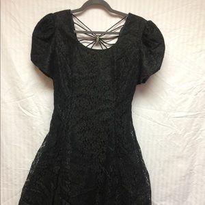 Black Cocktail Dress - like new